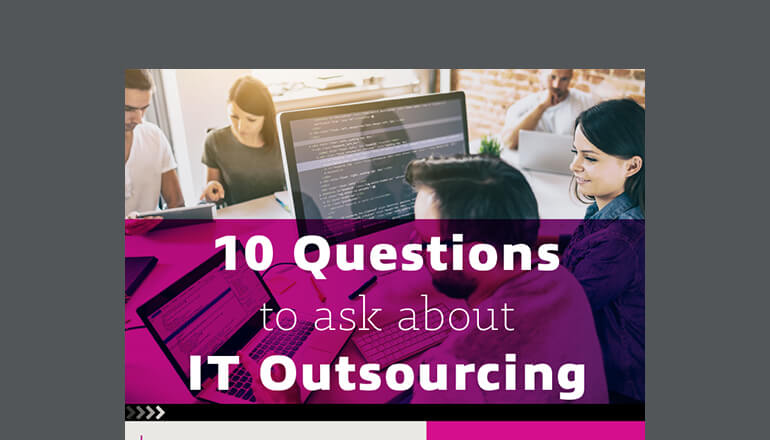 IT Outsourcing infographic cover