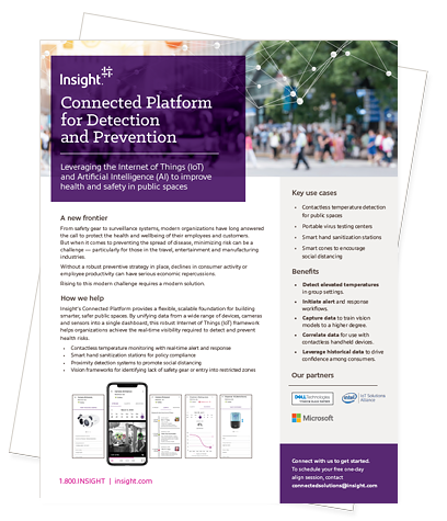 Cover of the Insight Connected Platform for Detection and Prevention