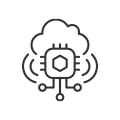 IoT cloud icon
