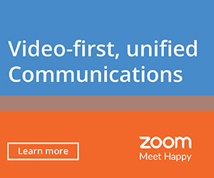 Ad: Zoom. Video-first, unified communication. Learn more