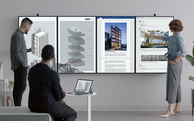 Surface Hub 2 business lifestyle